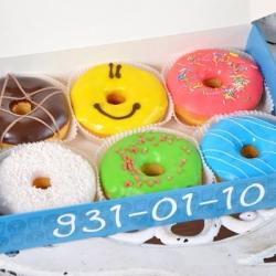 Коробка для пончиков своими руками 31